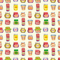 Seamless jam pattern Stock Photos