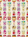 Seamless jam pattern Royalty Free Stock Photo