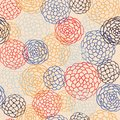 Seamless japanese style pattern. illustration Stock Photo