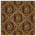 Seamless Javanese Batik Pattern - Single Wing Royalty Free Stock Photography