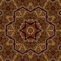 Seamless Khayameya Pattern Des...