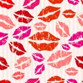 Seamless kiss background Royalty Free Stock Photo