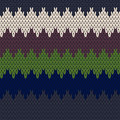 Seamless knit pattern colorful background vector illustration Stock Photo