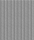 Seamless knitting pattern, shades of gray Royalty Free Stock Photos