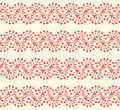 Seamless lace background vector abstract cute Royalty Free Stock Photography