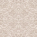 Seamless lace pattern ornamental background Stock Photos