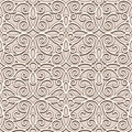 Seamless lace pattern ornamental beige background Royalty Free Stock Photo