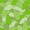 Seamless leaf background pattern Stock Photo