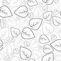 Seamless leaf pattern background Stock Image