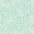 Seamless leaf retro background Stock Photos