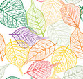 Seamless leafy  background Stock Photos