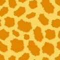Seamless leopard fur pattern Stock Image