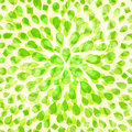 Seamless Lime Color Petal Pattern Royalty Free Stock Photography