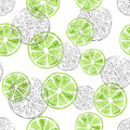 Seamless lime pattern.