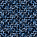Seamless line pattern Royalty Free Stock Photos