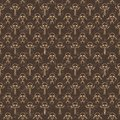 Seamless little skeletons pattern Stock Image