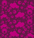 Seamless love pattern Stock Image