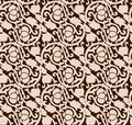 Seamless luxurious chocolate pattern Royalty Free Stock Images