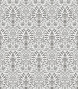 Seamless luxurious wallpaper vector floral Royalty Free Stock Image