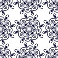 Seamless luxury pattern illustration Royalty Free Stock Photo