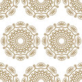 Seamless luxury pattern illustration Royalty Free Stock Images