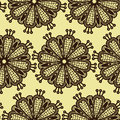 Seamless luxury pattern illustration Royalty Free Stock Photos