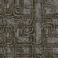 Seamless maze of plumbing pipes. Royalty Free Stock Photo