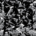 Seamless metal garbage Royalty Free Stock Images