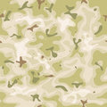 Seamless military camouflage set illustration of a grunge and with green and brown shades for army background and camo fight Stock Images