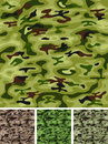 Seamless Military And Hunting Camo Royalty Free Stock Photo