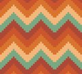 Seamless modern chevron zig zag pattern background vector illustration of the Stock Image