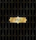 Seamless modern pattern golden texture background Royalty Free Stock Photo