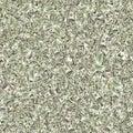 Seamless 100 Money stack. Hundred dollars of America. Falling money isolated, us bill white background Royalty Free Stock Photo