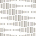 Seamless Monochrome Geometric Wallpaper Royalty Free Stock Photo