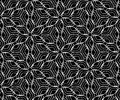 Seamless monochrome pattern for your design Stock Image