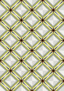 Seamless mosaic background of shiny strips and squares checkered with a black square decorated delicate ornament Stock Image