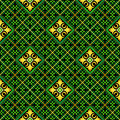 Seamless mosaic casino pattern Royalty Free Stock Image