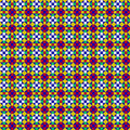 Seamless Mosaic Pattern Stock Images