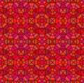 Seamless mosaic pattern in octagon concept vector Stock Images