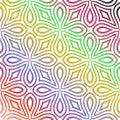 Seamless multi colour pattern