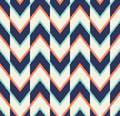 Seamless multicolor arrow pattern Royalty Free Stock Photo