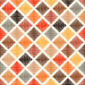 Seamless multicolor rhombus tiles pattern Royalty Free Stock Photo
