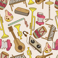Seamless music pattern Royalty Free Stock Images