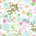 Seamless natural pattern Royalty Free Stock Image
