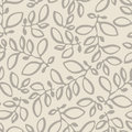 Seamless Nature Pattern With S...