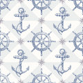 Seamless Nautical Background W...