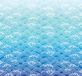 Océano ola patrón