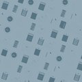 Seamless office icins pattern the with icons Royalty Free Stock Images