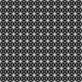 Seamless op art pattern. Stock Image