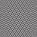 Seamless op art geometric square tile pattern background Royalty Free Stock Photo